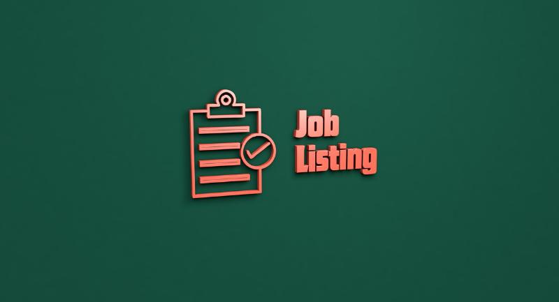 real estate job listing